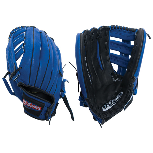 "12"" Baseball Glove Blue - Left Thrower"