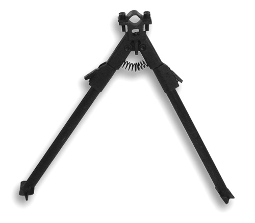 BIPOD WITH UNIVERSAL BARREL MOUNT