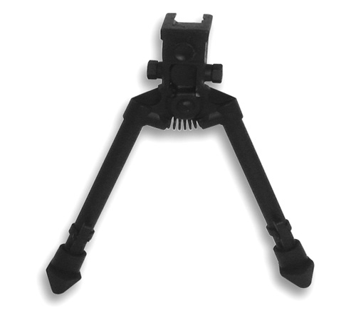 BIPOD WITH WEAVER QUICK RELEASE MOUNT/ UNIVERSAL BARREL ADAPTER