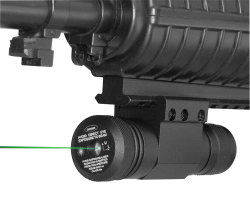 GREEN LASER WITH WEAVER BASE/PRESSURE SWITCH