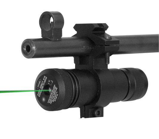 GREEN LASER WITH UNIVERSAL BARREL MOUNT/PRESSURE SWITCH