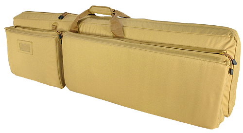 DOUBLE RIFLE CASE/TAN
