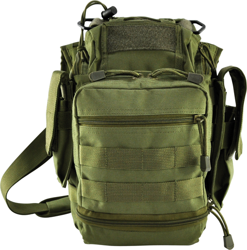 PVC FIRST RESPONDERS UTILITY BAG - GREEN