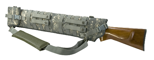 TACTICAL SHOTGUN SCABBARD - DIGITAL CAMO