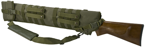TACTICAL SHOTGUN SCABBARD - GREEN