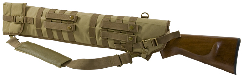 TACTICAL SHOTGUN SCABBARD - TAN