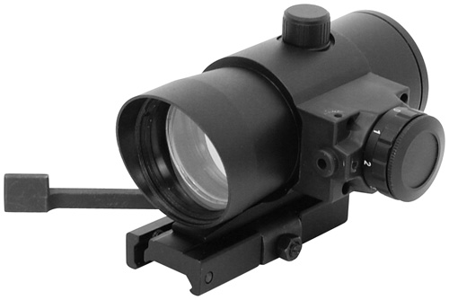 1X40 RED DOT SIGHT WITH BUILT IN RED LASER/QUICK RELEASE WEAVER