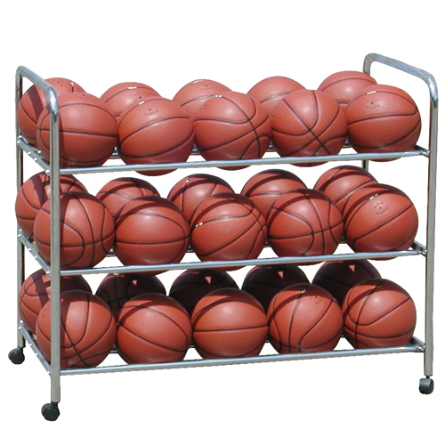 Ball Cart Double-Wide Steel Ball Cart