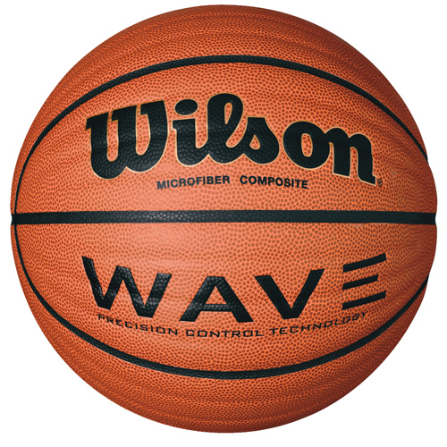 Basketball Wilson Wave Game Ball Official