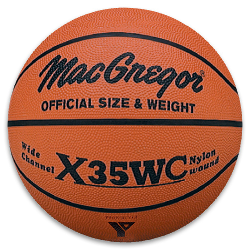Basketball MacGregor X35WC Men's Rubber Basketball