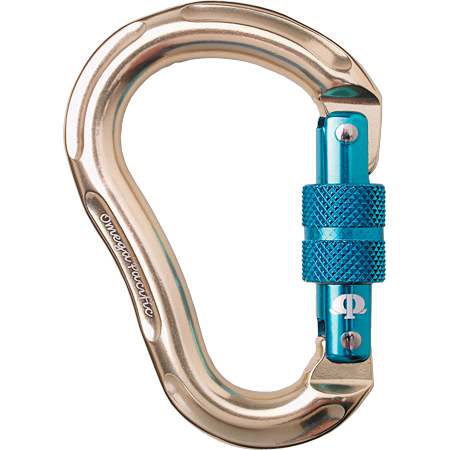 Carabiner Omega Jake Jr Gold/Blue