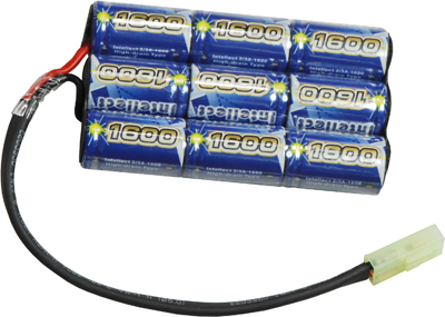 Airsoft Intellect 10.8v 1600mAh Small Size for BatteryBox