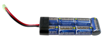 Airsoft Battery Intellect 8.4v 1600mAh Mini Battery