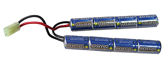 Airsoft Battery Intellect 9.6v 1600mAh ButterFly Battery