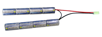Airsoft Battery Intellect 9.6v 3600mAh Large ButterFly Type