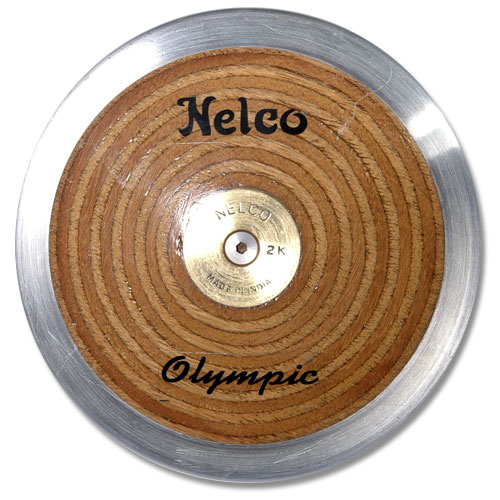 Laminated Olympic Wood Discus 1.6K