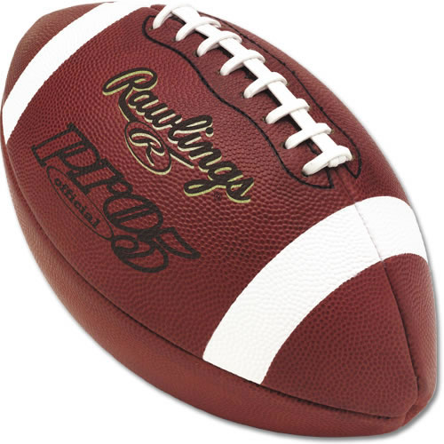 Leather Football Rawlings PRO5 Official Football