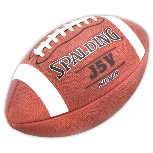 Leather Football Spalding J5V Silver Pro Football 62-9248
