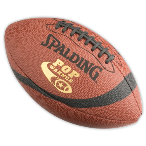 Leather Football Spalding Pop Warner Leather Football Youth