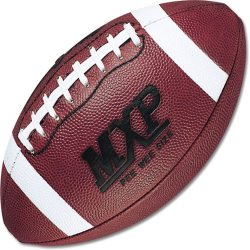 Pee wee leather football