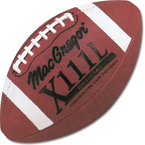 Leather Football MacGregor X111L Official Football