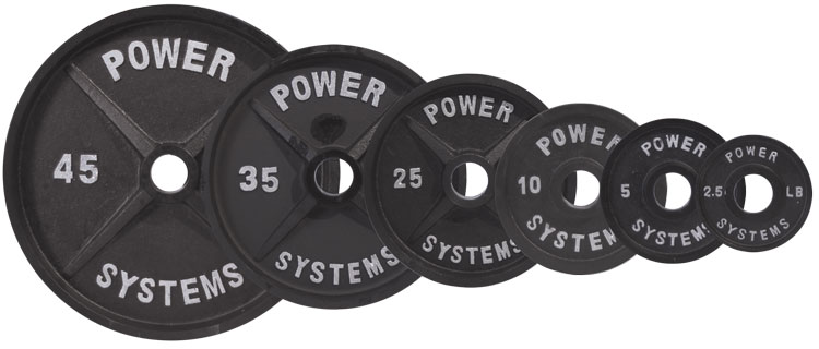 Weight Plates Pro Olympic Plates Black