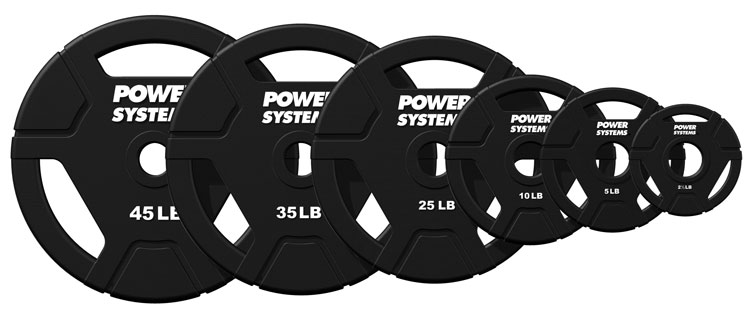 Weight Plates Elite Urethane Olympic Grip Plates